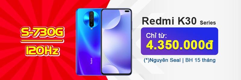 Xiaomi Redmi K30 4G & 5G, K30 Pro