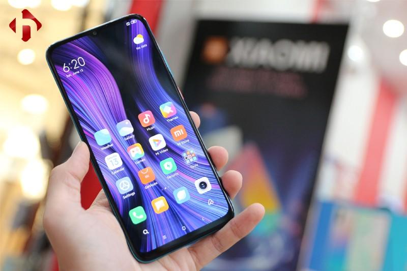 Redmi 10X 5G có cảm biến vân tay được đặt trong màn hình