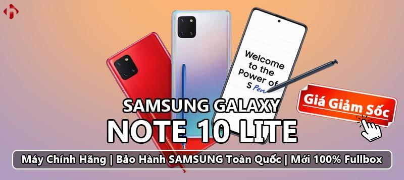 Note 10 Lite Chính Hãng - Giảm Giá Sốc