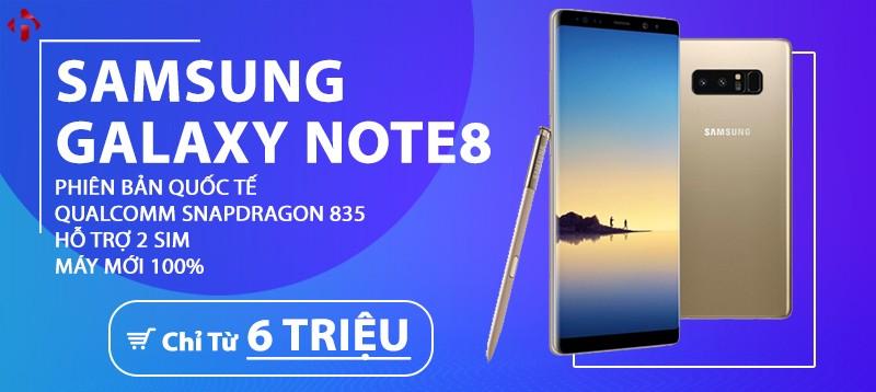 Galaxy Note 8 Quốc Tế Snapdragon | 2 SIM