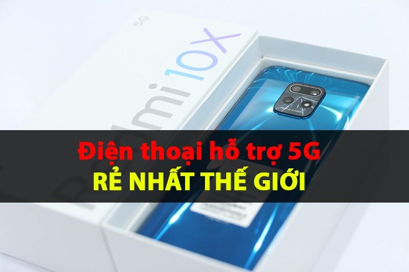 Redmi 10x 5G ra mắt: So sánh nhanh Redmi 10x 5G/ Pro 5G/4G