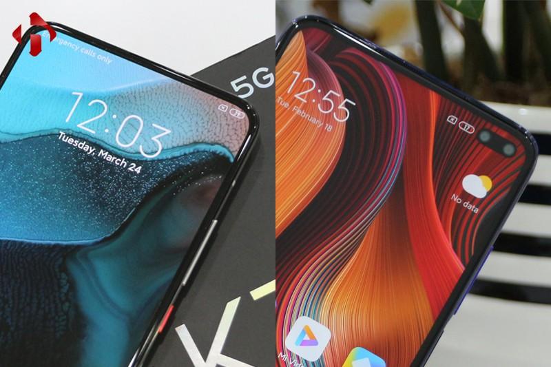 so sánh Redmi K30 Pro 5G và Redmi K30 5G