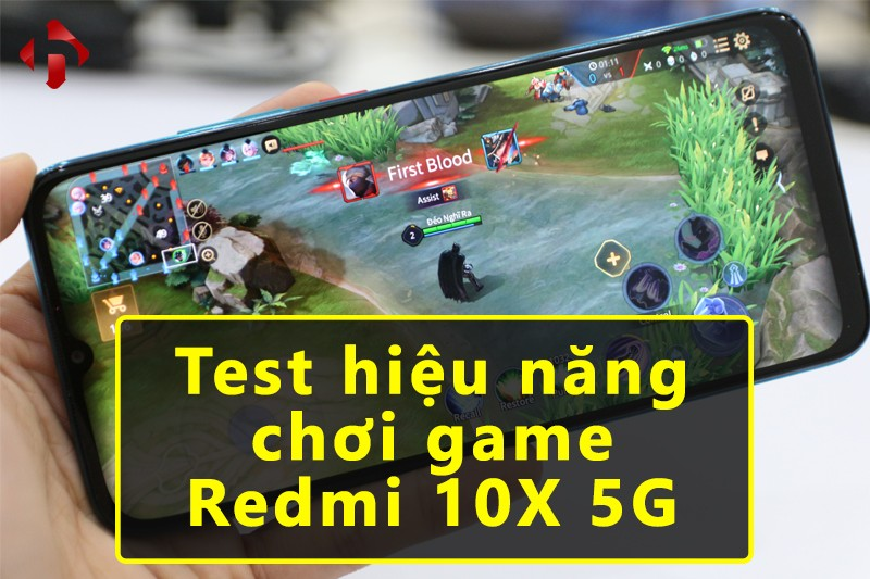 Test Game Redmi 10X 5G