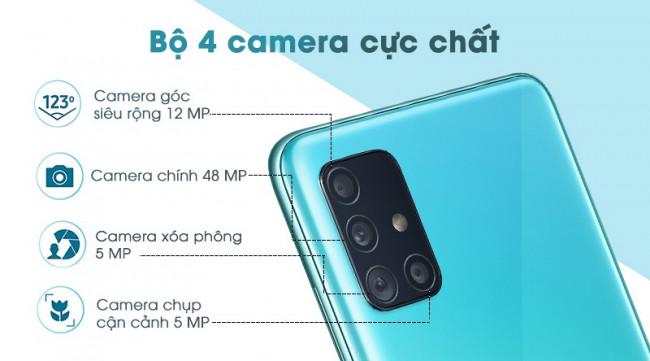 Galaxy A51 6GB/128GB Chính Hãng