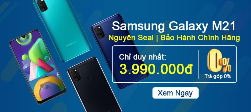 Galaxy M21 | Siêu Phẩm Samsung Giá Rẻ