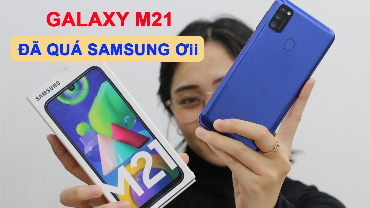 Mở hộp và Review Samsung M21: Máy Samsung giá rẻ tốt nhất tôi được biết