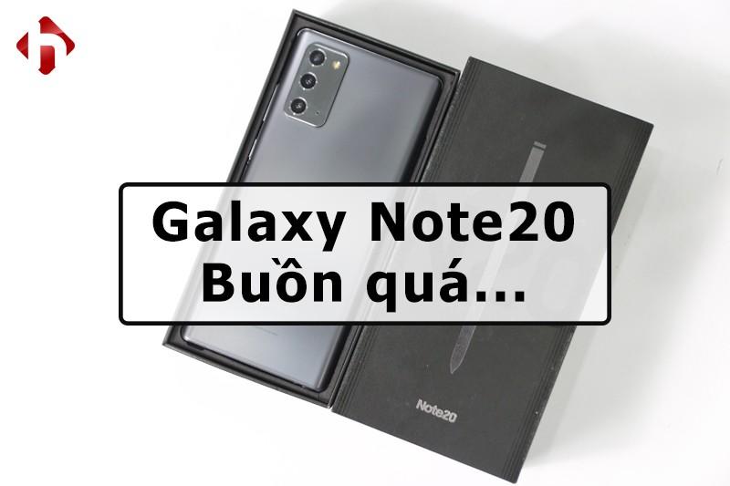 Trên tay & Đánh giá Galaxy Note 20: Ôi Samsung ơi...