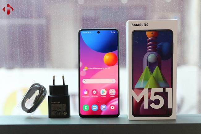Galaxy M51 8GB/128GB Chính Hãng