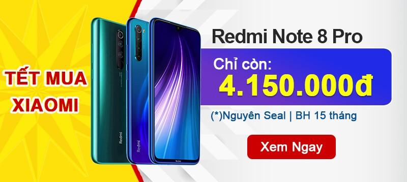 Xiaomi Note 8 Pro: Giá rẻ đón Tết