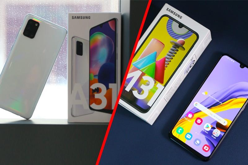 So sánh Samsung M31 và A31: Bằng giá mà khác nhiều quá