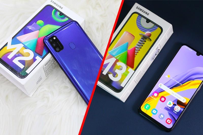 So sánh Samsung M21-M31:Khác có tý mà chênh hẳn 1 củ