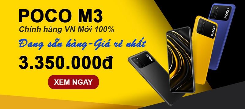 POCO M3: Sẵn hàng - Giá rẻ nhất
