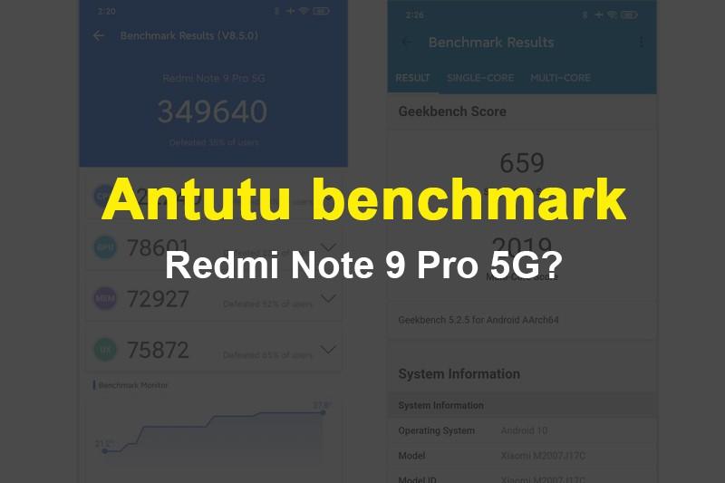 Điểm Antutu Redmi Note 9 Pro 5G| Đánh giá chip Snap750G
