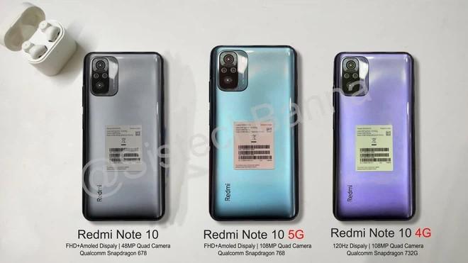Đây là Redmi Note 10: Snap768, hỗ trợ 5G, S.AMOLED, giá chỉ 6 tr