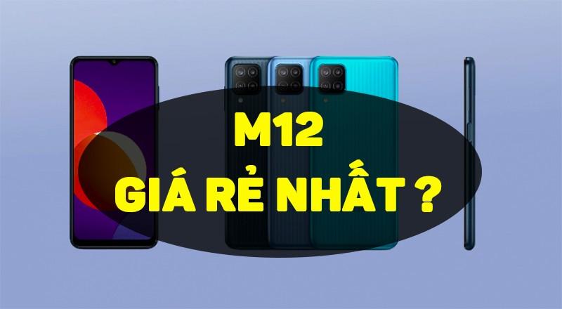 Đây là Samsung M12: Pin 6000mAh, màn hình 90Hz giá rẻ nhất từ trước đến nay