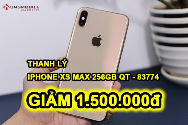 iPhone XS Max 256GB Trắng cũ (83774)
