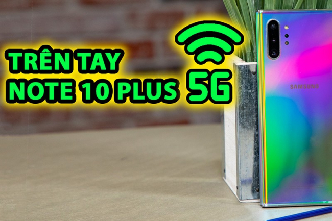 Galaxy Note 10 Plus Hàn 5G Lướt (Đẹp như mới)