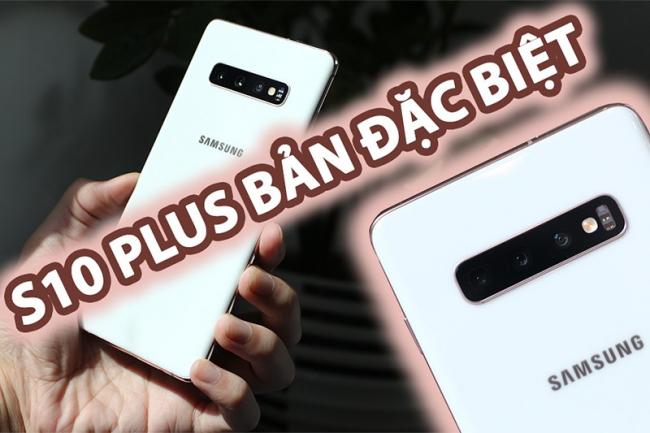 Samsung S10 Plus Hàn 512GB Lưng Gốm Lướt (Đẹp như mới)