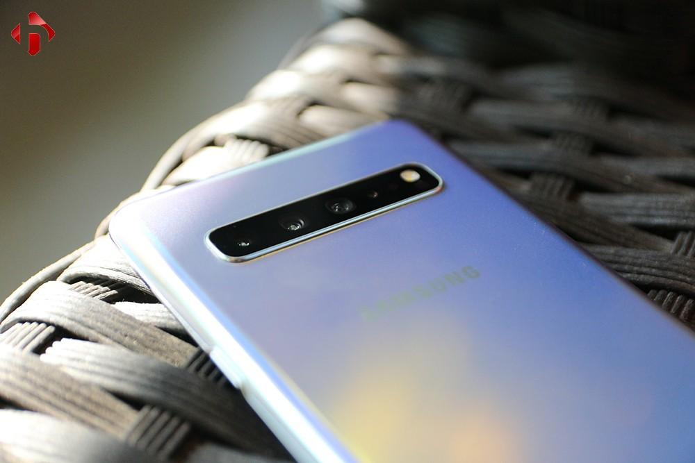 Cụm camera sau trên Samsung S10 5G