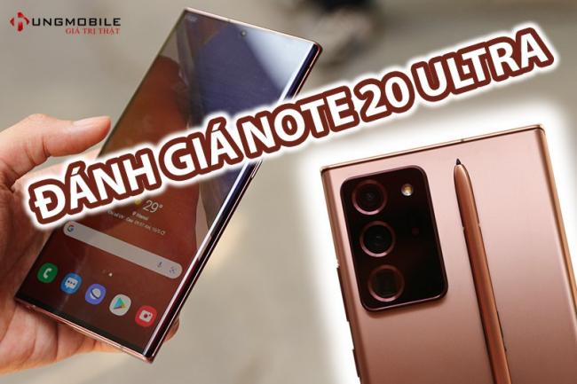 Samsung Note 20 Ultra 5G Chính Hãng 256GB Mới Nguyên Seal