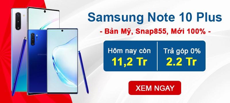 Note 10+ Mỹ giá rẻ nhất