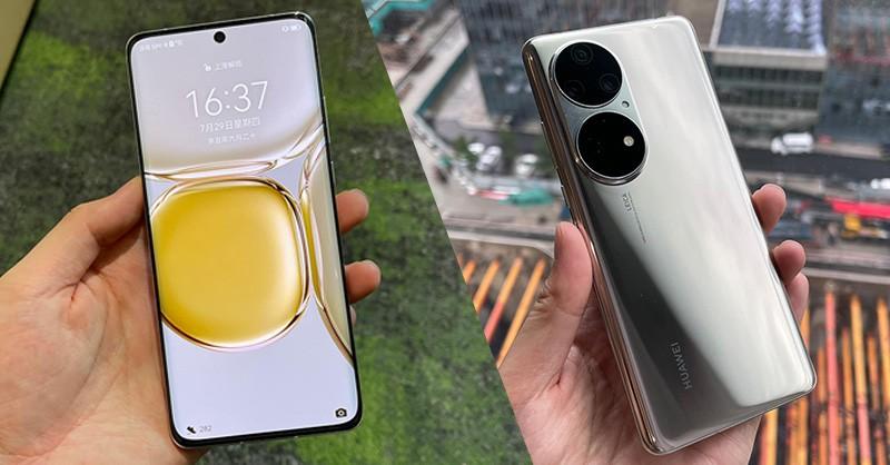 Trên tay Huawei P50: Thiết kế độc lạ, giá bán đến 30.2 triệu