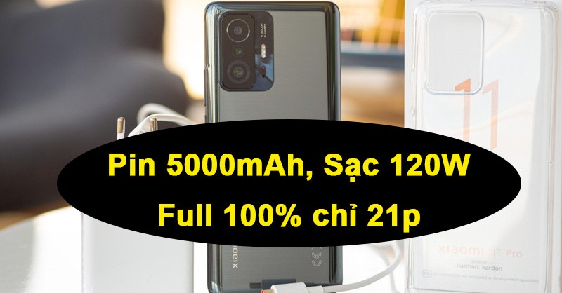 Xiaomi 11T và 11T Pro ra mắt: Snap888, sạc 120W, Harman Kardon, giá từ 13.4tr