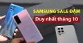 TOP 5 Samsung Giảm Sốc tháng 10: Giá rẻ hơn thị trường đến 2 triệu