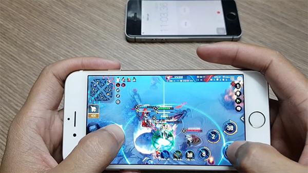 Chơi game trên iPhone 6 32GB chính hãng