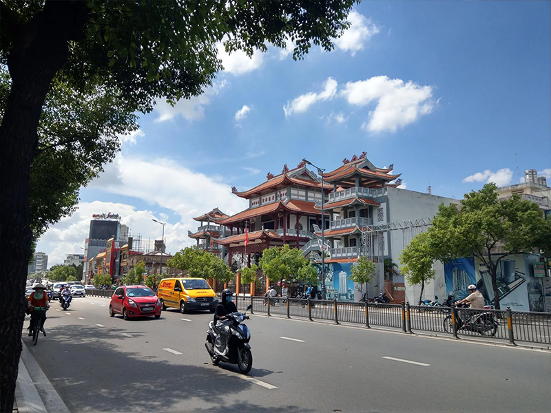 Ảnh đường phố chụp bằng HTC U11