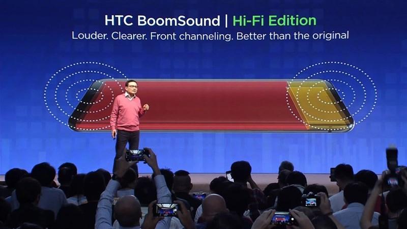 Loa bomsound trên HTC U11