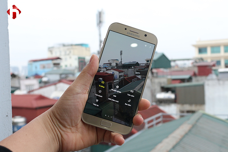Camera trên Galaxy A7 2017