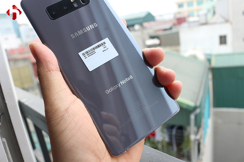 Mặt sau của Galaxy Note 8 mỹ Cũ