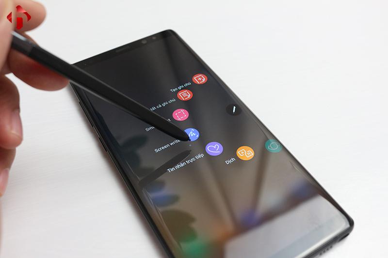 Kiểm tra bút Spen trên Galaxy Note 8 Mỹ cu