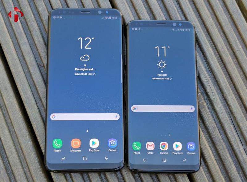 Samsung Galaxy S8 với S8 Plus Mỹ