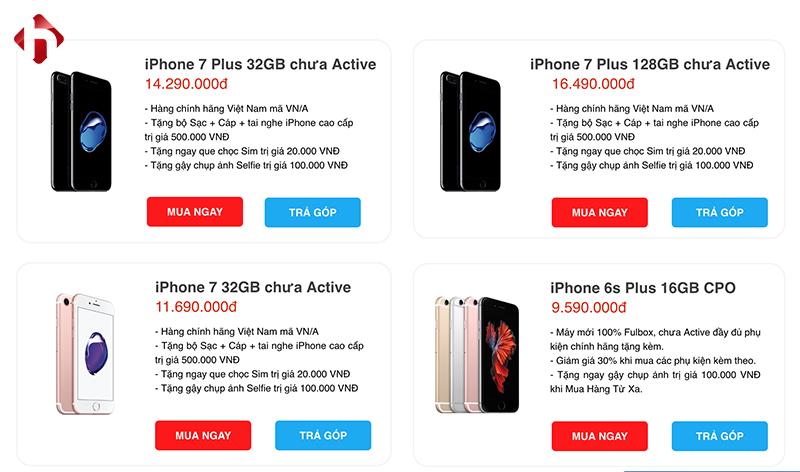 iPhone đổi bảo hành có mức giá rẻ