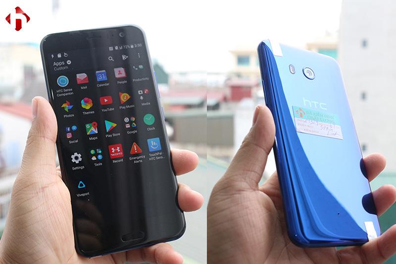 Kiểm tra các tính năng trên HTC U11 Mỹ cũ, xách tay