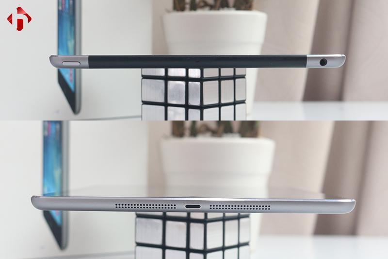 Kiểm tra các vị trí kết nối trên iPad Air cũ