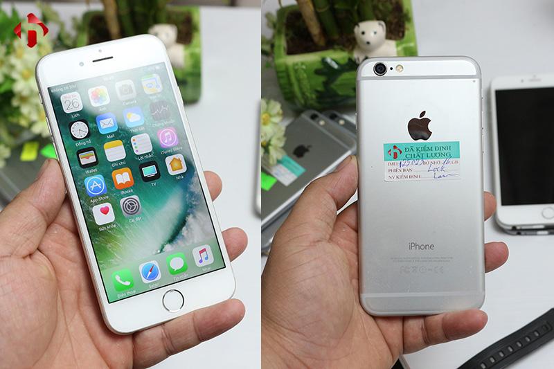 Thiết kế mặt trước và sau iPhone 6 Lock