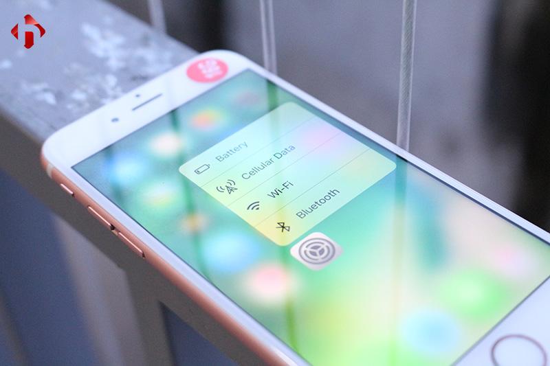 3D Touch trên iphone 6s lock