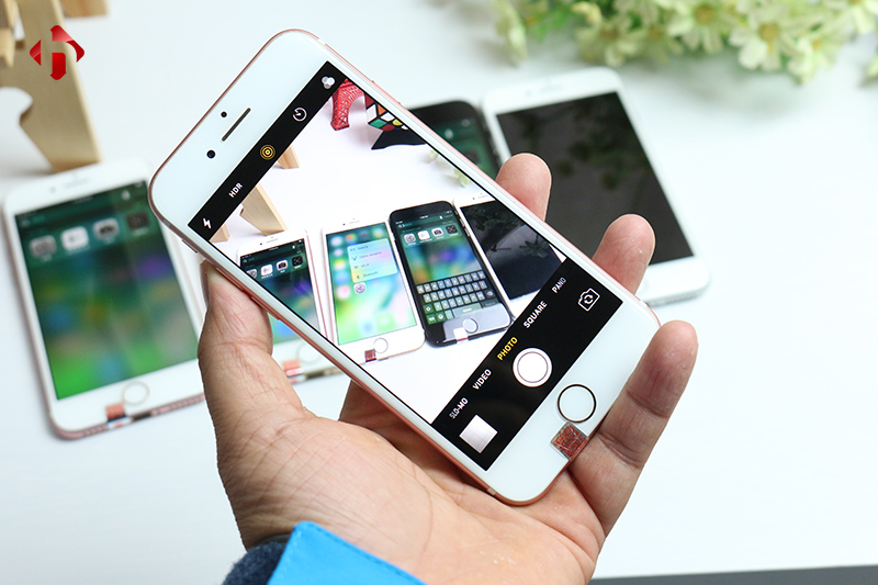 Camera trên iPhone 7 Lock