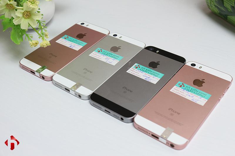 Mặt sau iPhone SE