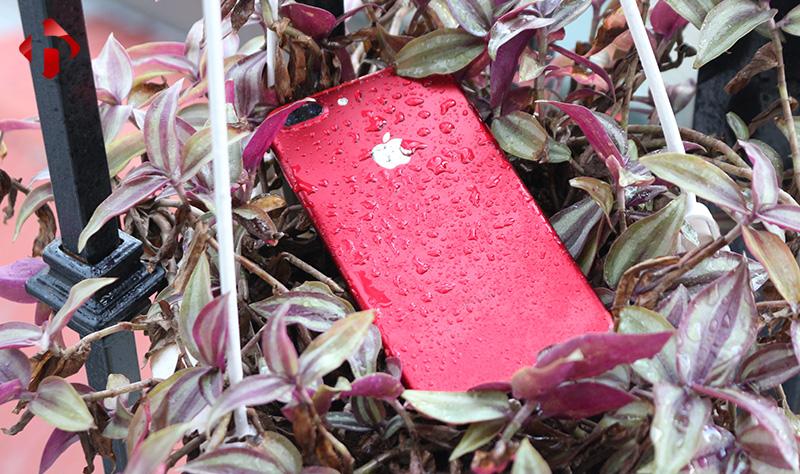 iPhone 7 Plus đỏ có khả năng chống nước