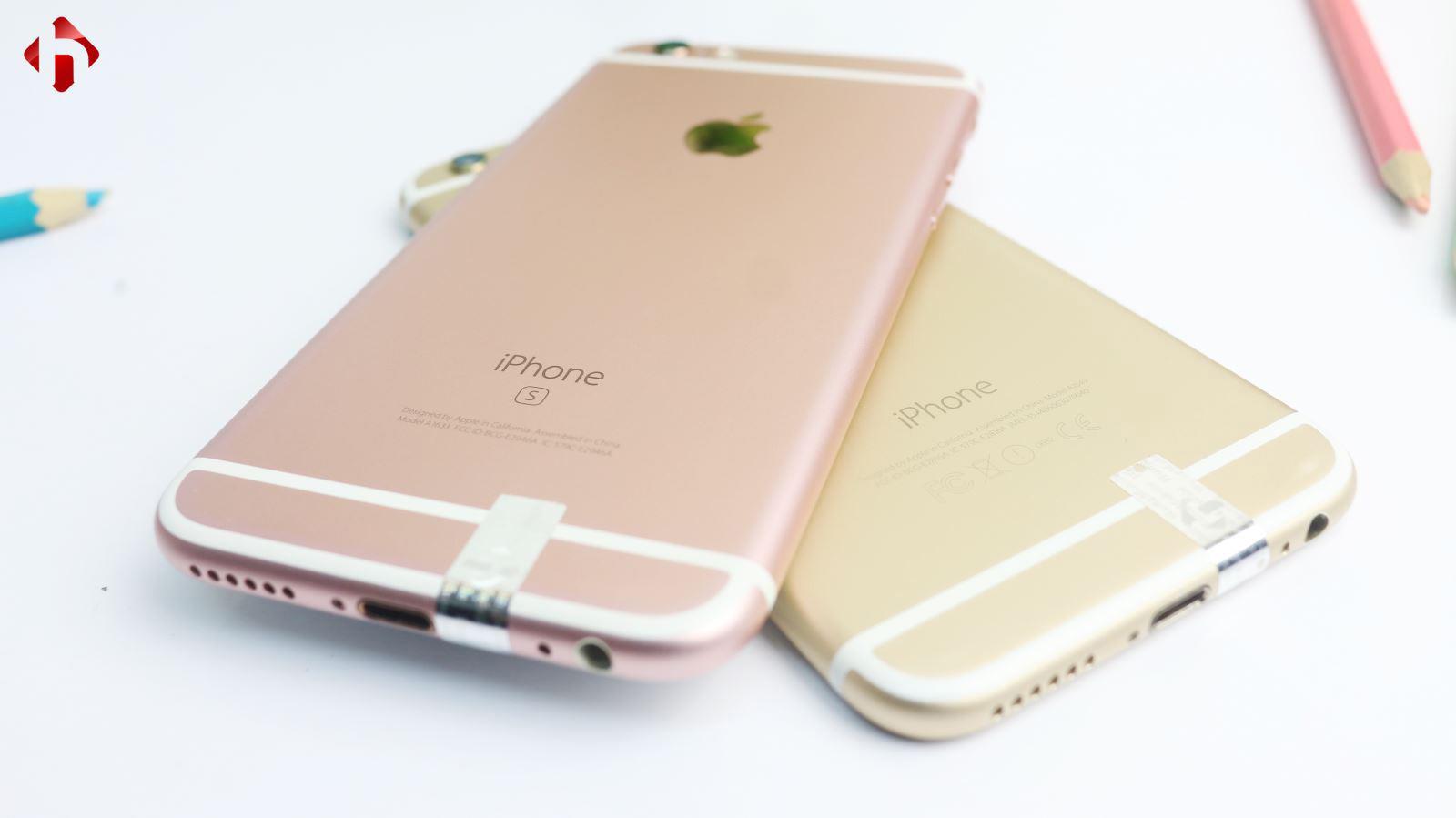 Sự khác biệt giữa iPhone 6 và 6s là không đáng kể