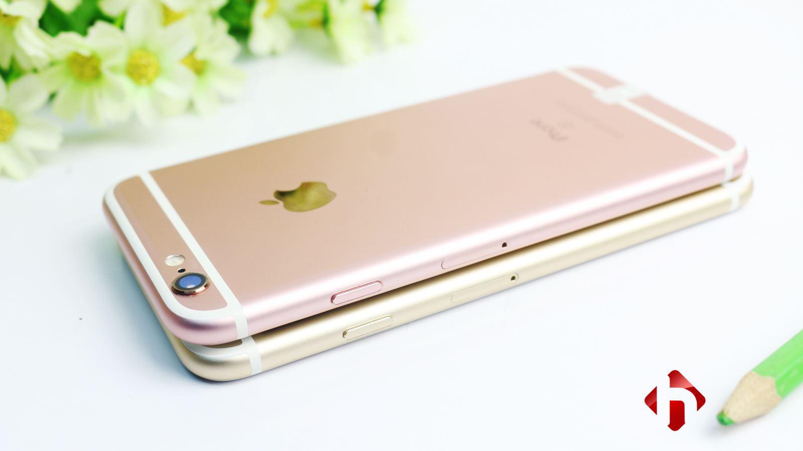 Sở hữu thiết kế gần như giống hệt nhau của iPhone 6 và 6s
