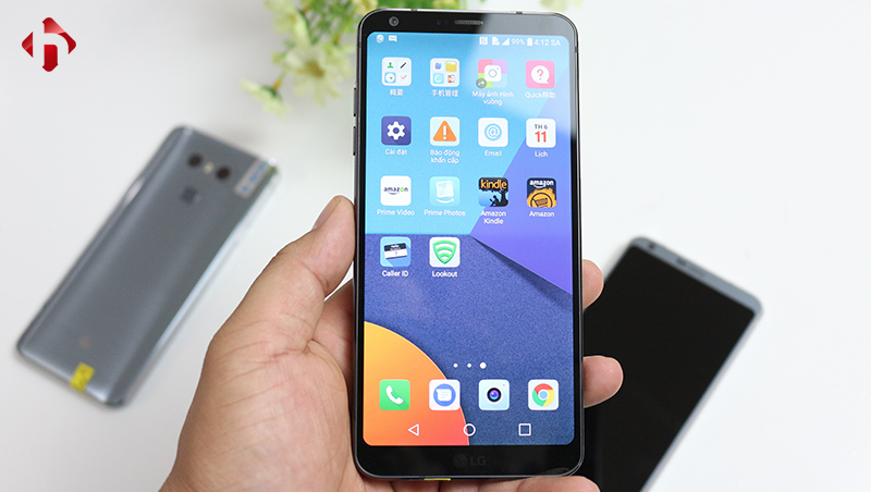 Giao diện LG G6
