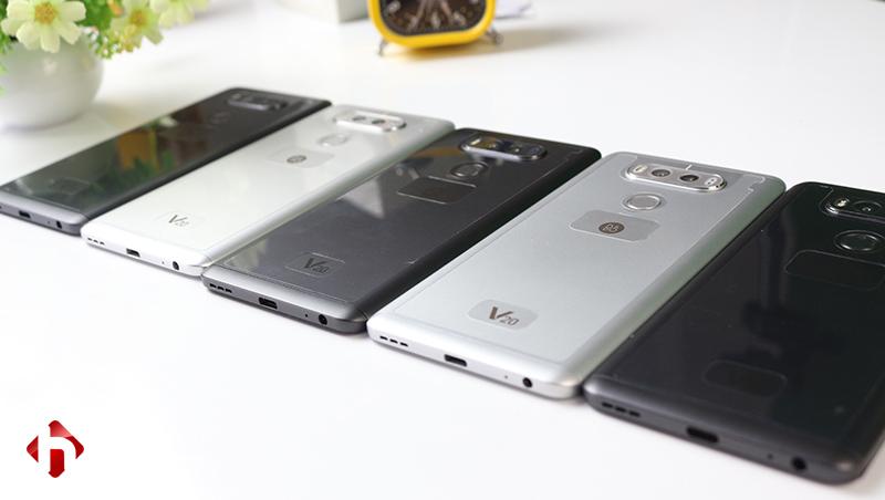 Hệ thống loa của LG v20