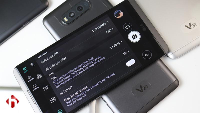 LG V20 có camera khủng