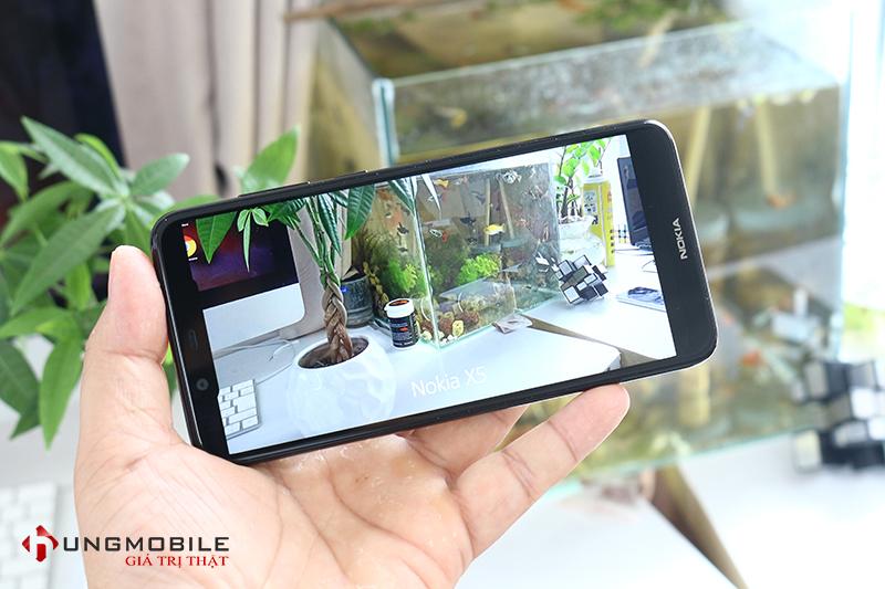 Camera của Nokia X5 2018