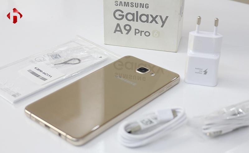 Toàn bộ phụ kiện Galaxy A9 Pro chính hãng